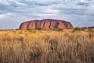 Photograph - Uluru by Alan Toepfer