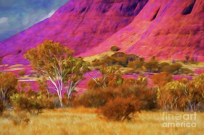 Photograph - Uluru Rock by Rick Bragan