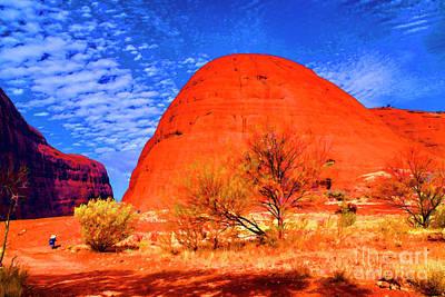 Photograph - Uluru Rock Road by Rick Bragan