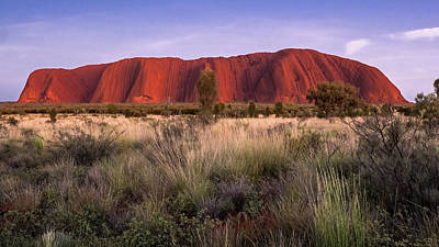 Photograph - Uluru Sunrise by Walt Sterneman