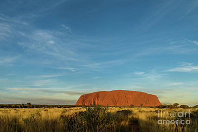 Photograph - Uluru Sunset 01 by Werner Padarin