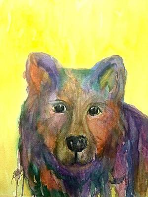 Painting - Um-bear-to by Ellen Levinson