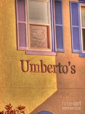 Umbertos Print by David Bearden