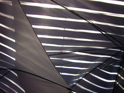 Photograph - Umbrella Abstract 30 by Mary Bedy