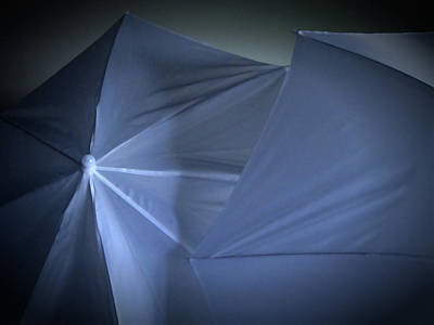 Photograph - Umbrella Abstract 40 by Mary Bedy