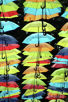 Photograph - Umbrella Art - - Doc Braham - All Rights Reserved by Doc Braham