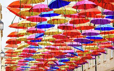 Photograph - Umbrella Art by Colin Rayner