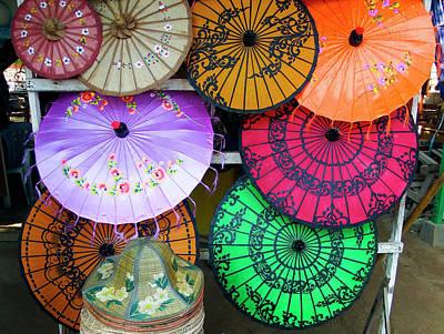 Photograph - Umbrella Color by Kurt Van Wagner