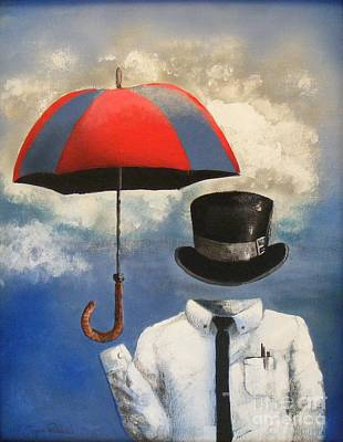 Painting - Umbrella by Crispin  Delgado