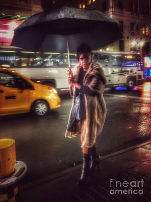 Photograph - Umbrella Day by Miriam Danar