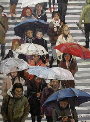 Umbrella Day Original by Natalia Bessonova