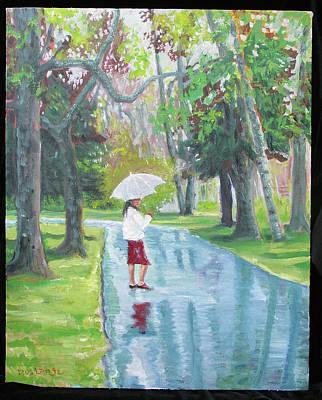 Umbrella Girl Original