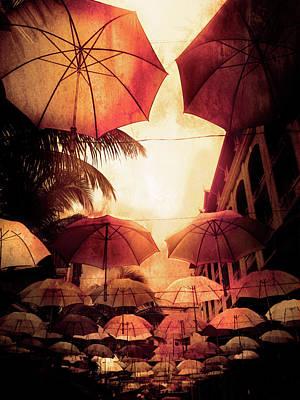 Mauritius Digital Art - Umbrella by Hatsharmaveth Bheeka
