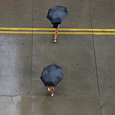 Photograph - Umbrella Legs by Christopher McKenzie