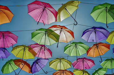 Everyday Stuff Photograph - Umbrella Love by William Ferry
