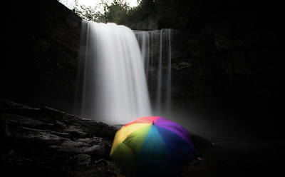 Photograph - Umbrella by Mike Dunn