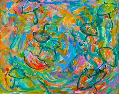Beastie Boys - Umbrella Swirl by Kendall Kessler