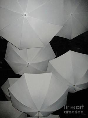 Rain Gear Photograph - Umbrellas 1 by Randall Weidner
