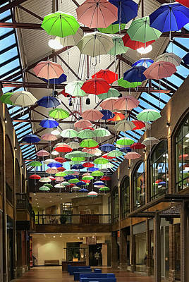 Photograph - Umbrellas Above by Patti Deters