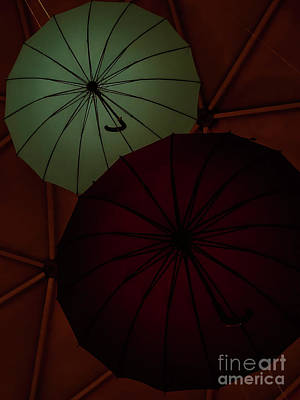 Photograph - Umbrellas by Camille Pascoe