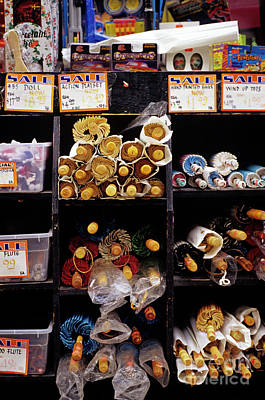 Photograph - Umbrellas For Sale China Town by Jim Corwin