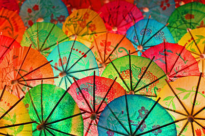 Photograph - Umbrellas Galore by Bobby Villapando