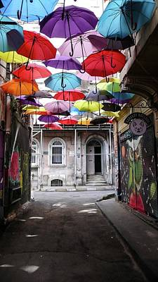 Photograph - Umbrellas In Istanbul by Sheila Mcdonald