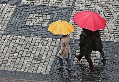 Photograph - Rainy Day In Heidelberg by Tatiana Travelways