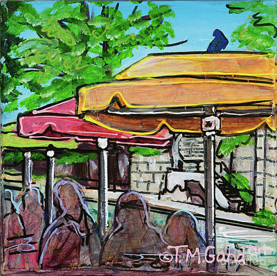 Painting - Umbrellas by TM Gand