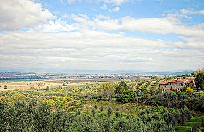 Photograph - Umbrian View by Dorothy Berry-Lound