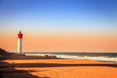 Photograph - Umhlanga Lighthouse by Alexey Stiop