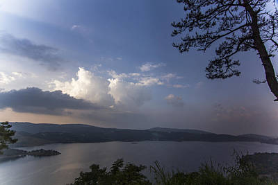 Photograph - Umiam Lake Shillong by Ramabhadran Thirupattur
