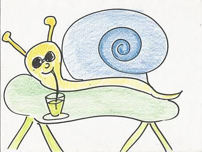 Animation Drawing - Ummmm, So Cool by Gabriel Coelho