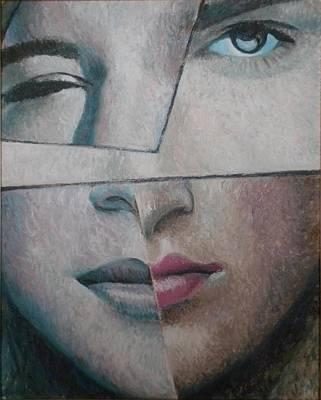 Volto Painting - Umore by Gustavo Aresu