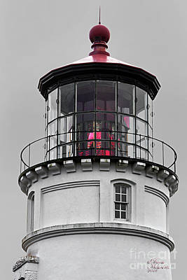 Photograph - Umpqua Lighthouse by David Millenheft