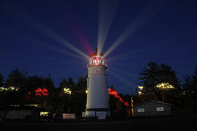 Photograph - Umpqua Lighthouse by James Eddy