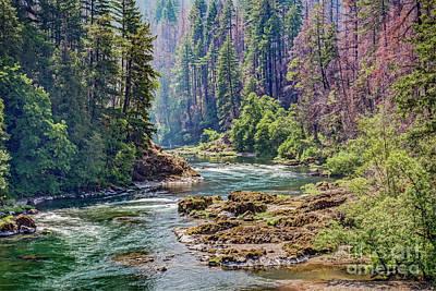 Photograph - Umpqua River by Charles Dobbs