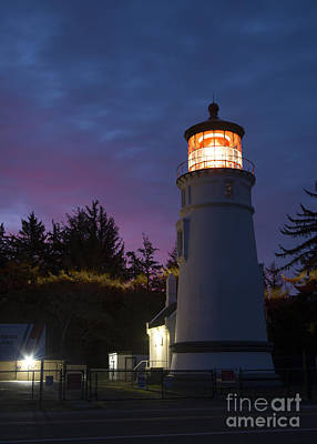 Photograph - Umpqua River Light by Idaho Scenic Images Linda Lantzy
