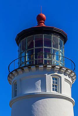 Umpqua River Lighthouse Oregon Coast Art Print
