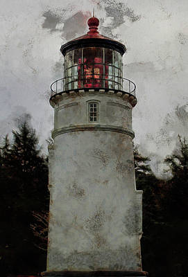 Photograph - Umpqua River Lighthouse by Thom Zehrfeld