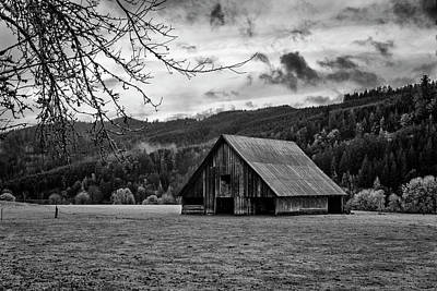 Photograph - Umpqua River Valley by Steven Clark
