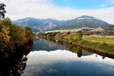 Photograph - Umpqua Valley Oregon Henry Estates by Michele Avanti