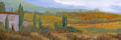 un altro pomeriggio in Toscana Print by Guido Borelli
