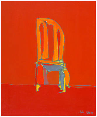 Painting - Un-sittable by John Gibbs
