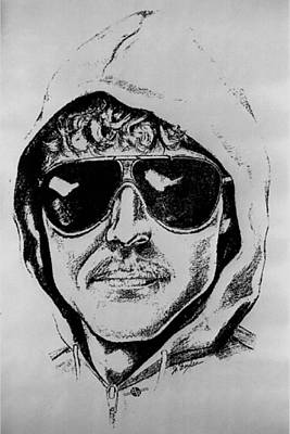 Painting - Unabomber Ted Kaczynski Police Sketch 1 by Tony Rubino