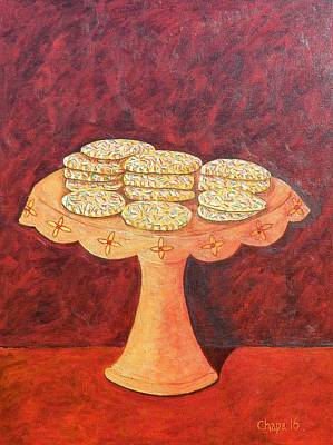 Painting - Unas Galletas Mexicanas by Manny Chapa