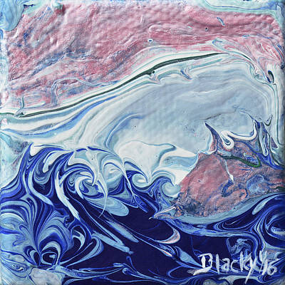 Painting - Unbridled Sea by Donna Blackhall