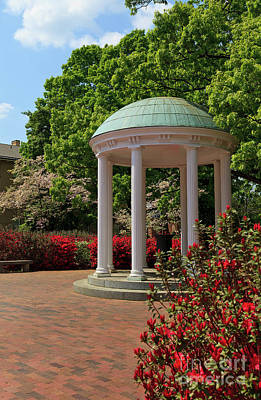 Photograph - Unc-ch Old Well In The Spring by Jill Lang