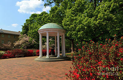 Photograph - Unc Chapel Hill Old Well by Jill Lang