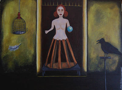 Uncaged Art Print by Leah Saulnier The Painting Maniac